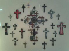 Cozy Home Ideas On Pinterest Cross Walls Crosses Decor