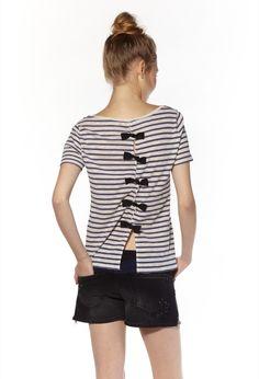 T-shirt Trempoline ecru Claudie Pierlot