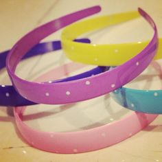 Set of 5 hairbands - Rs 200 Contact me on facebook . My page is Pretty in Pink . Or u can resend me the pin you like for any queries in the comments . And i will get back.