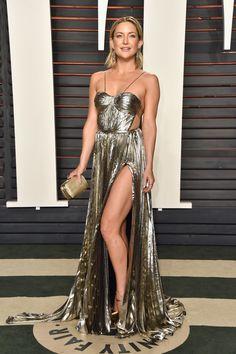 Kate Hudson - Os melhores looks da festa pós-Oscar da Vanity Fair - Vogue | Red carpet