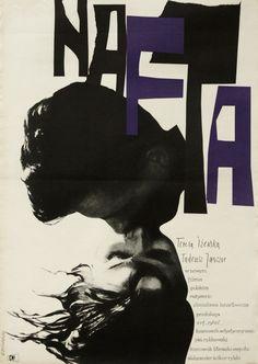 The Oil Nafta Cieslewicz Roman Polish Poster
