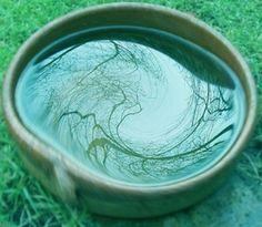 """My mother decided to clean the silver and became mesmerized by a bowl of water she'd set on the dining-room table."" All Souls Trilogy / A scrying bowl with water and oil. Water Witch, Sea Witch, Water Spells, Traditional Witchcraft, Season Of The Witch, Water Element, White Magic, Believe In Magic, Book Of Shadows"
