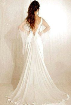 Medevil and Celtic wedding gown