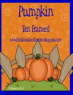 This is a collection of pumpkin tens frames for teaching the concept of ten in math. I have included a making ten recording sheet, 2 tens frames recording sheets and Math Classroom, Kindergarten Math, Teaching Math, Teaching Ideas, Preschool Math, Math Resources, Math Activities, Classroom Resources, Classroom Ideas