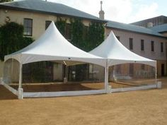 linked pagoda marquees