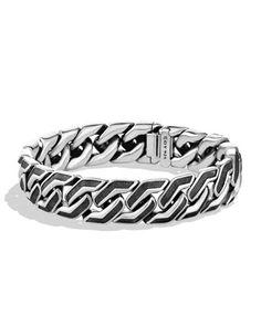 Men\'s Curb Chain Bracelet by David Yurman at Neiman Marcus.