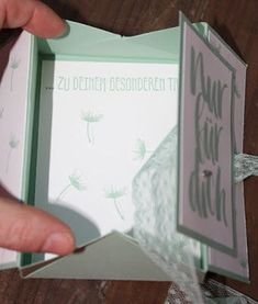 Zauberhaft-handgemacht: Schachtelkarte mit Anleitung