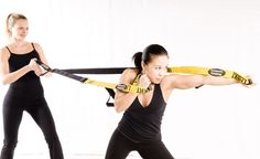 Lebert Fitness Buddy System: Exercise with a Partner