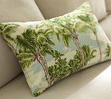 palm tree pillow Pottery Barn