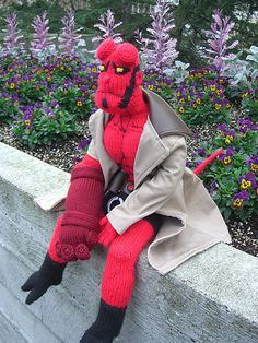 Ravelry: FizzTheCarbonated's Hellboy