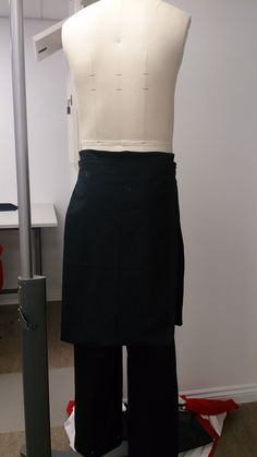 Skirt and jeans made