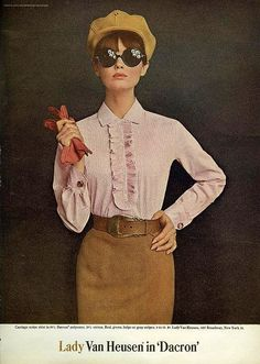 Lady Van Heusen: From Mademoiselle, September 1965 Repinned by www.lecastingparisien.com