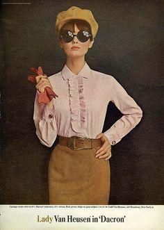 Lady Van Heusen: From Mademoiselle, September 1965 Repinned by www.lecastingparisien.com