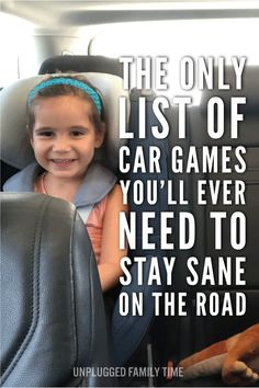 Road Trip Games: The Ultimate Guide To Road Trip Entertainment - best car games for kids the-ultimate-guide-to-road-trip-entertainment-by-Unplugged-Family-Time-Pint - Car Ride Games, Fun Car Games, Car Games For Kids, Bus Games, Road Trip With Kids, Family Road Trips, Travel With Kids, Family Travel, Baby Travel