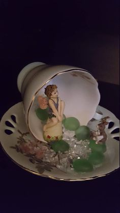 Fairy in a tea cup.