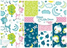 New fabric collection! Dream a Little Dream by Heather Rosas