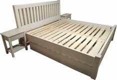 Manželská posteľ z masívu, buk Bench, Storage, Furniture, Home Decor, Purse Storage, Decoration Home, Room Decor, Larger, Home Furnishings