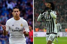 James se queda en el Real Madrid y más fichajes en el último día de traspasos -
