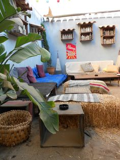 Large bohemian style garden bar and restaurant - The Garden, Lagos Traveller Reviews - TripAdvisor
