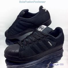 adidas Originals Mens Superstar Weave Trainers Black sz 10.5 Sneakers US 11 45.3 in Clothes, Shoes & Accessories, Men's Shoes, Trainers | eBay