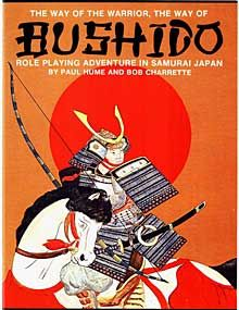 Bushido RPG. Set in historically accurate feudal Japan with optional fantasy elements. I had the pleasure of running a couple pick-up sessions of this game.