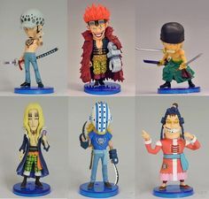 11.89$  Watch here - http://alijn8.shopchina.info/go.php?t=32584970967 - 6pcs/set One Piece Trafalgar Law zoro Anime Collectible Action Figures PVC Collection toys for christmas gift free shipping  #magazineonlinewebsite