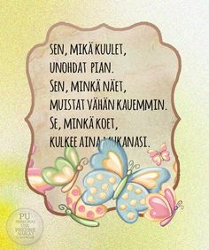Runot 2 - Marlan kuvat Finnish Words, When Life Gets Hard, More Words, Art Journal Pages, Funny Texts, Favorite Quotes, Me Quotes, Poems, Wisdom