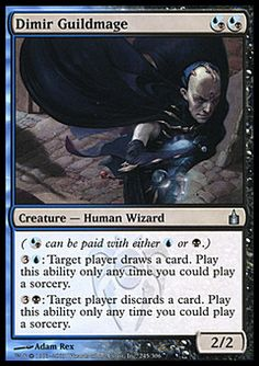 Dimir Guildmage ($.29) Price History from major stores - Ravnica - MTGPrice.com Values for Ebay, Amazon and hobby stores!