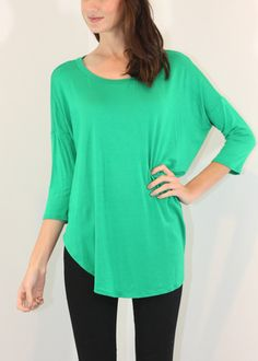 Perfect Tee - 3/4 sleeve Tunic tee