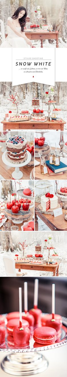 Zuckermonarchie - Café & Events in Hamburg | Styled Wedding Shooting: Schneewittchen