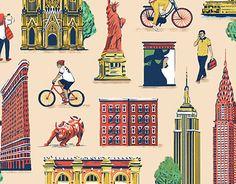 다음 @Behance 프로젝트 확인: \u201cNew York, Here We Come!\u201d https://www.behance.net/gallery/24200729/New-York-Here-We-Come