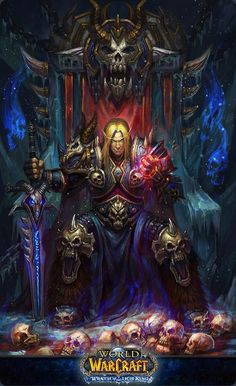 Not sure if Arthas or a deathknight kael'thas