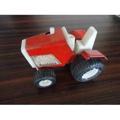 ESKİ TENEKE TRAKTÖR OYUNCAK - NADİR - 1960 Old Toys, Car, Automobile, Old Fashioned Toys, Autos, Cars
