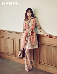 Kang So Ra For HEREN's March 2015 Issue | Couch Kimchi