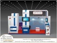 An exhibition design project created by us. #UniversalInfotainment