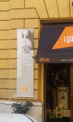 Evento Livin'art & IPazzi  ' Oltre il ritratto '  Aurora Giampaoli artista/fotografa della Scuderia Livin'art espone le sue opere presso IPazzi -Eco Concept Art Shop