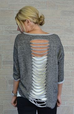 DIY sweatshirt idea