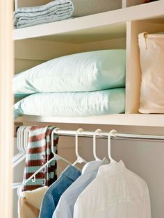 Don't let organizing stress you out! Take it one step at a time: http://www.bhg.com/decorating/storage/organization-basics/ways-to-reduce-clutter/?socsrc=bhgpin071914doyourbest&page=11