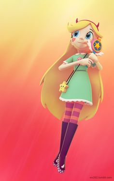 Ok, i want them to make star butterfly in infinity, and this is wut i want her to look like