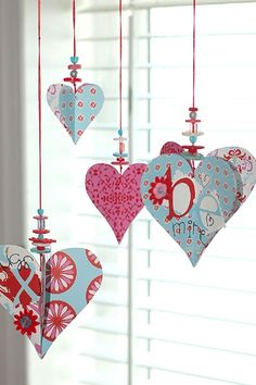 Valentine's Day - Maybe to replace the wreath in the big window
