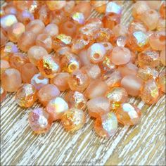 COFFEE COLOUR FACETED ACRYLIC OVAL BEADS PACK OF 50