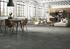 CREATIVE CONCRETE Tiles, living modern ceramic porcelain stoneware [AM CREACON 1]