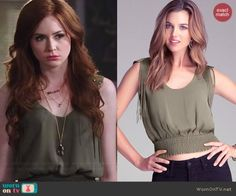 A website that finds the clothes worn on popular tv shows and links where to buy.