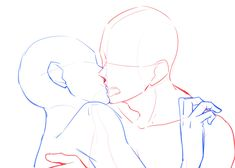 Advice that will help Try to improve Your own understanding of drawing poses Body Sketches, Drawing Sketches, Drawing Ideas, Kissing Poses, Drawings Of Couples Kissing, Kissing Drawing, How To Draw Kissing, Manga Poses, Couple Sketch