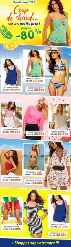 Excedence / newsletter Mode Femme du 04 août 2017 / crea DDC