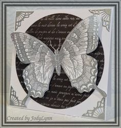 CC459 White Swallowtail by jodylb - Cards and Paper Crafts at Splitcoaststampers