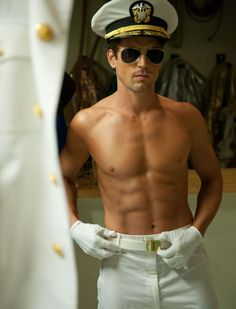 Matt Bomer in Magic Mike... I'm totally going to see this movie :)
