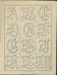 algunos abecedarios de internet para bordar a bastidor - Carmen Caperos - Álbumes web de Picasa