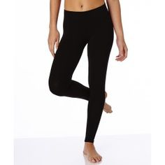 PACT : Women's Everyday Black Cotton Leggings