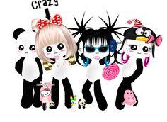 Captured Inside IMVU - Join the Fun! Panda party
